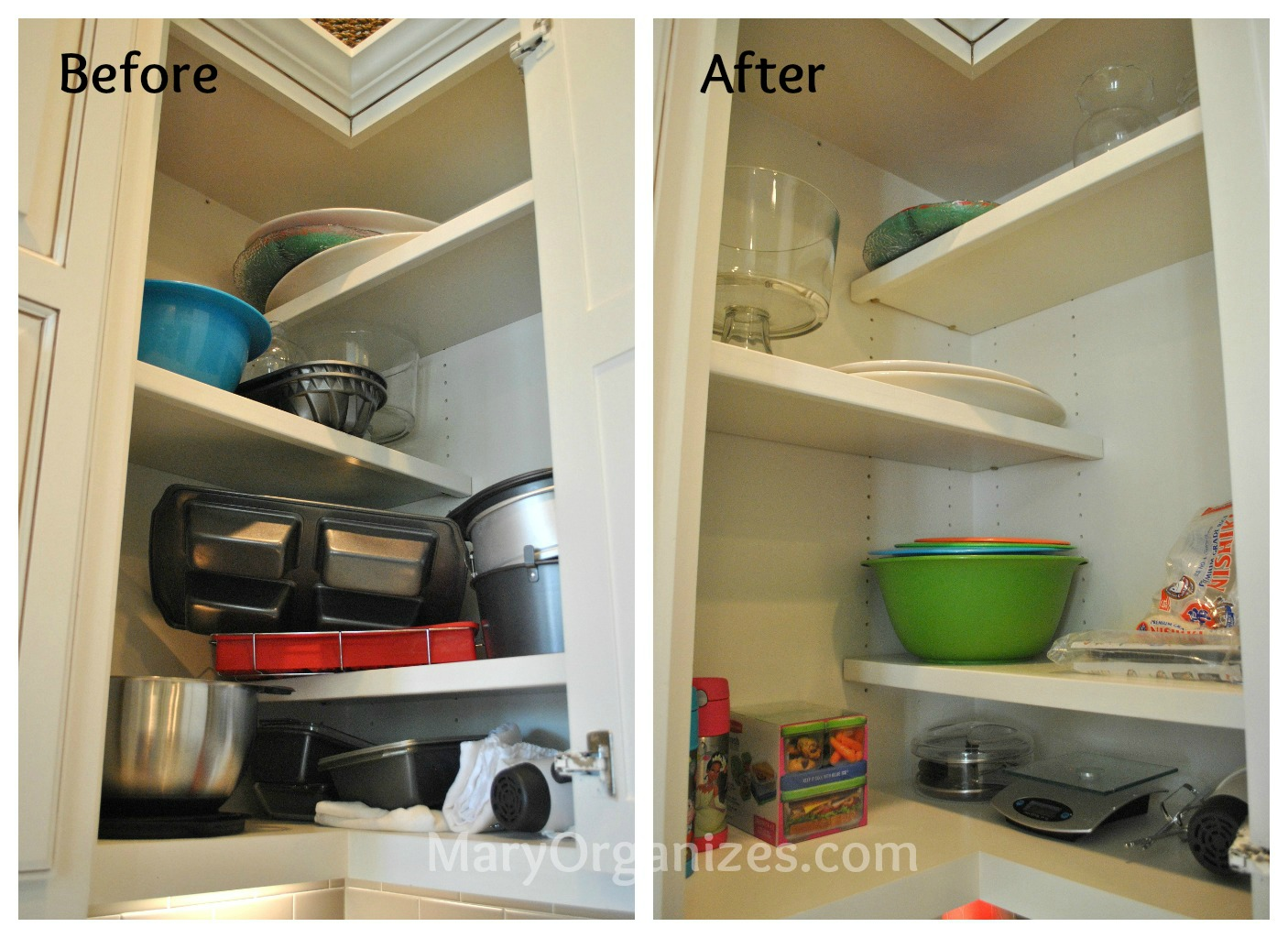 beautiful How To Arrange Kitchen Appliances #5: Mary Organizes