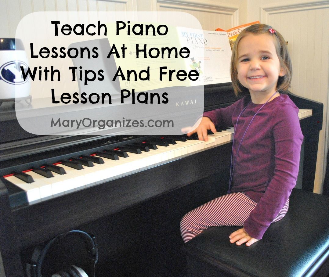 Teaching piano lesson plans 1984