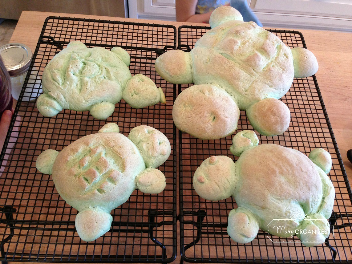 bread turtles recipe