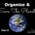 Organize and save the planet part 2