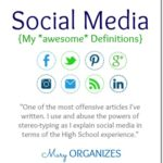 Social Media - My Awesome Definitions