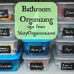 Favorites_ Bathroom Organization