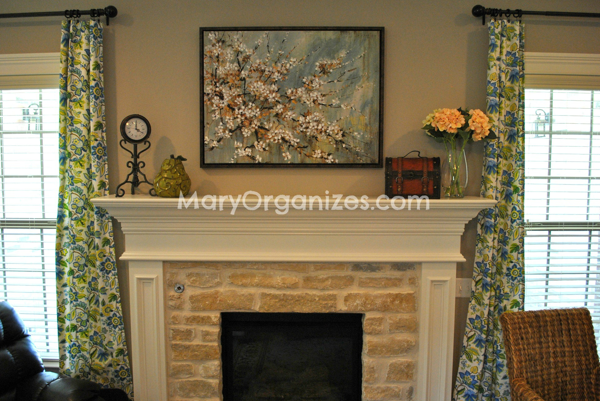 Mary Organizes Home Tour - Living Room (1)