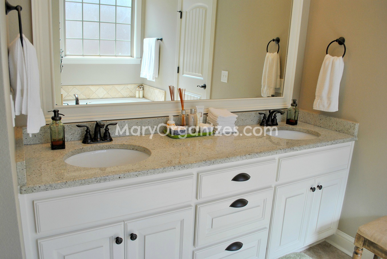 Mary Organizes Home Tour - Master Bathroom (1)