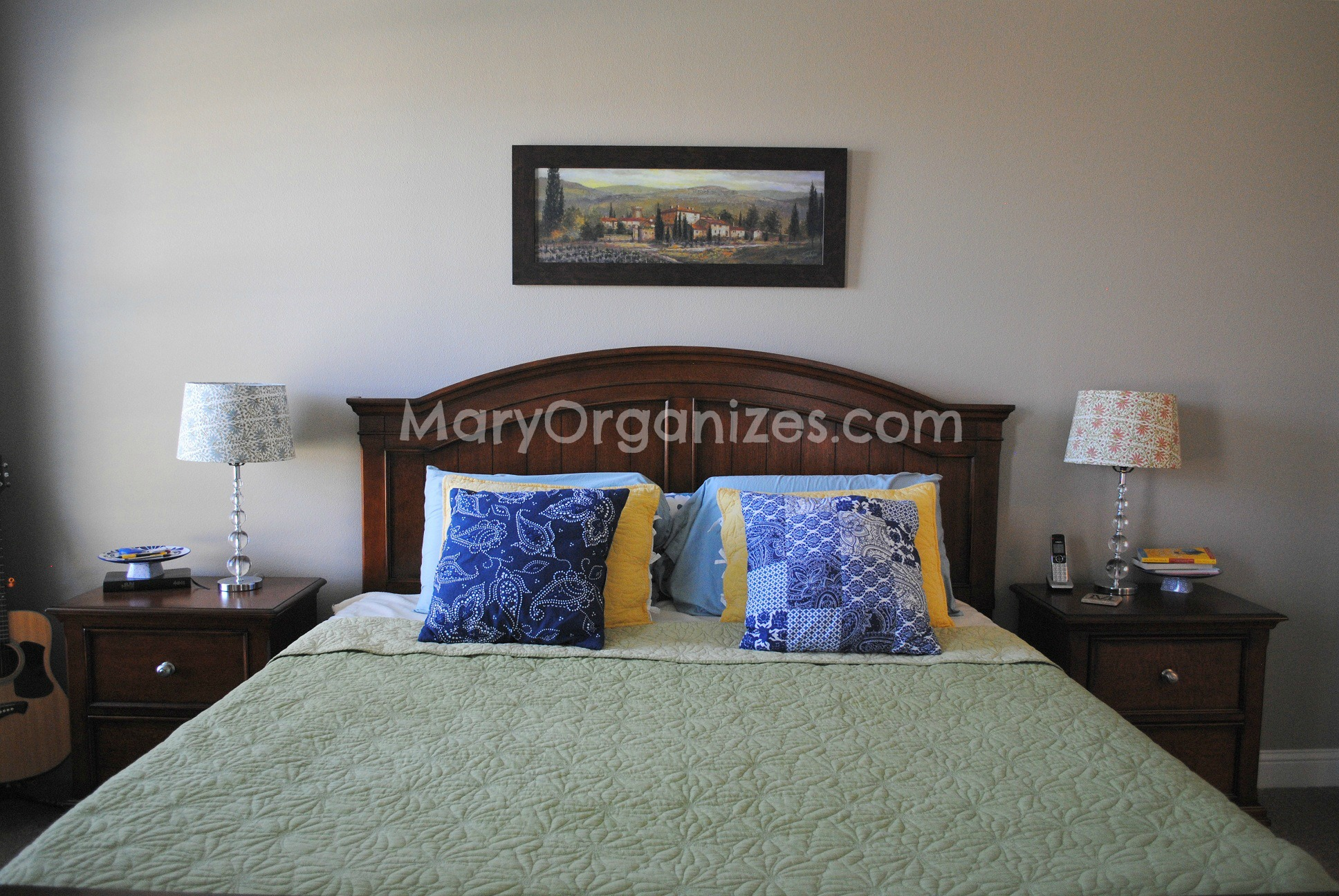Mary Organizes Home Tour - Master Bedroom (3)