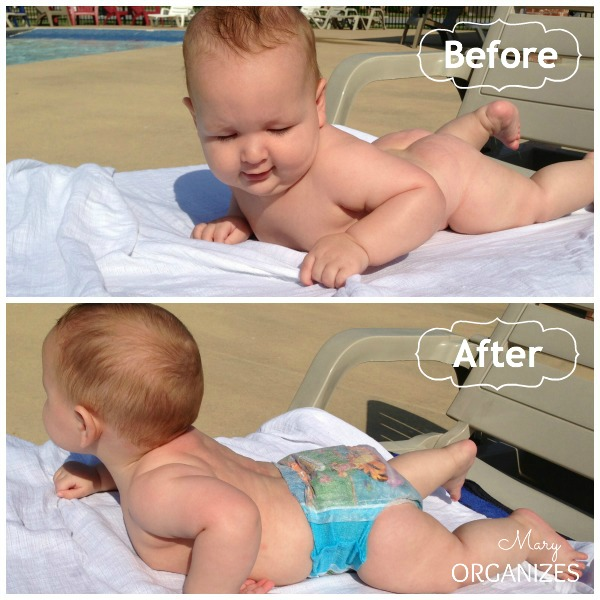 Before and After Swim Diapers