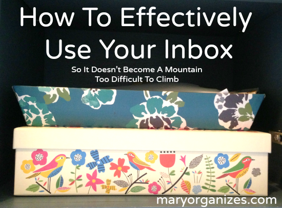 How To Effectively Use Your Inbox