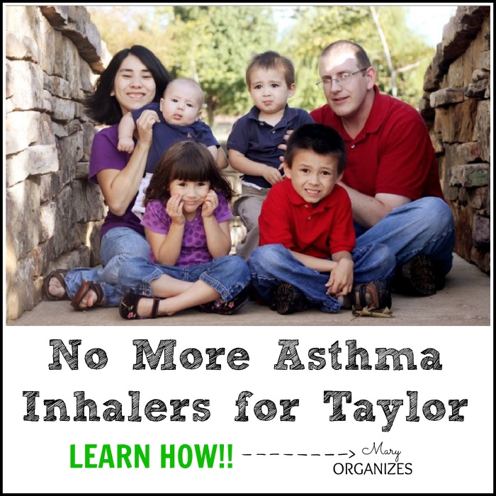 No More Asthma Inhalers for Taylor