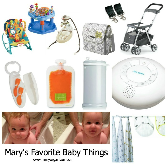 Mary's Favorite Baby Things
