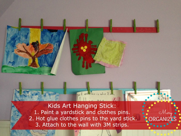 Kids Art Hanging Stick