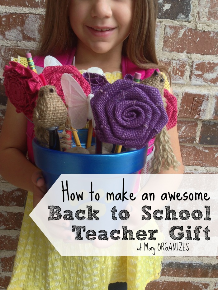 How to make an awesome Back to School Teacher Gift