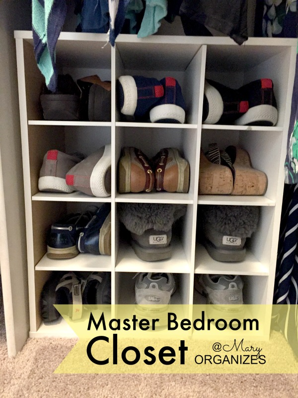 MBR Closet - all my shoes