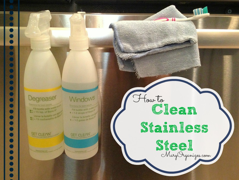 how i clean my stainless steel appliances. Black Bedroom Furniture Sets. Home Design Ideas