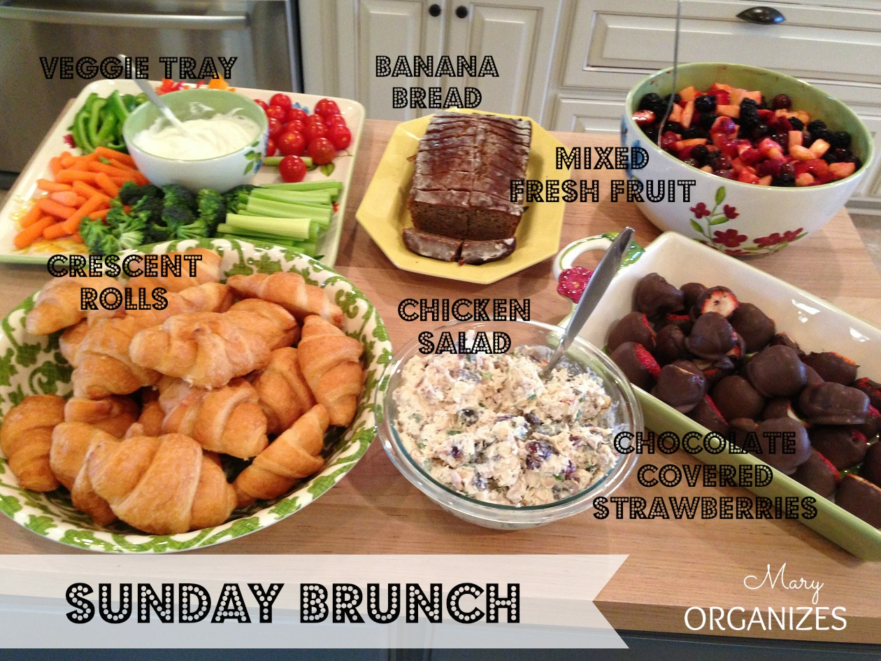 Sunday Brunch Menu