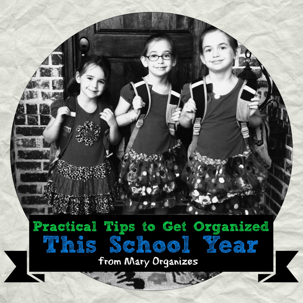 Practical tips to get organized this school year - Practical home tips easy solutions ...