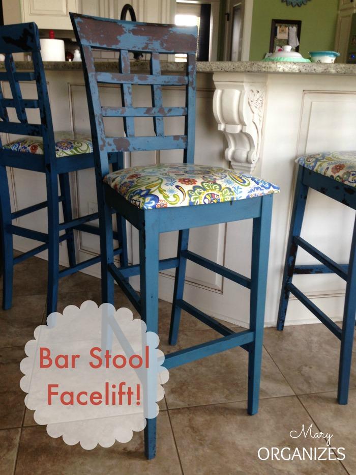 Bar Stool Redo Creatingmaryshome Com