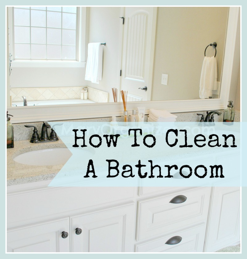 How To Clean Bathroom Floor Without Mop: How To Clean The Bathroom