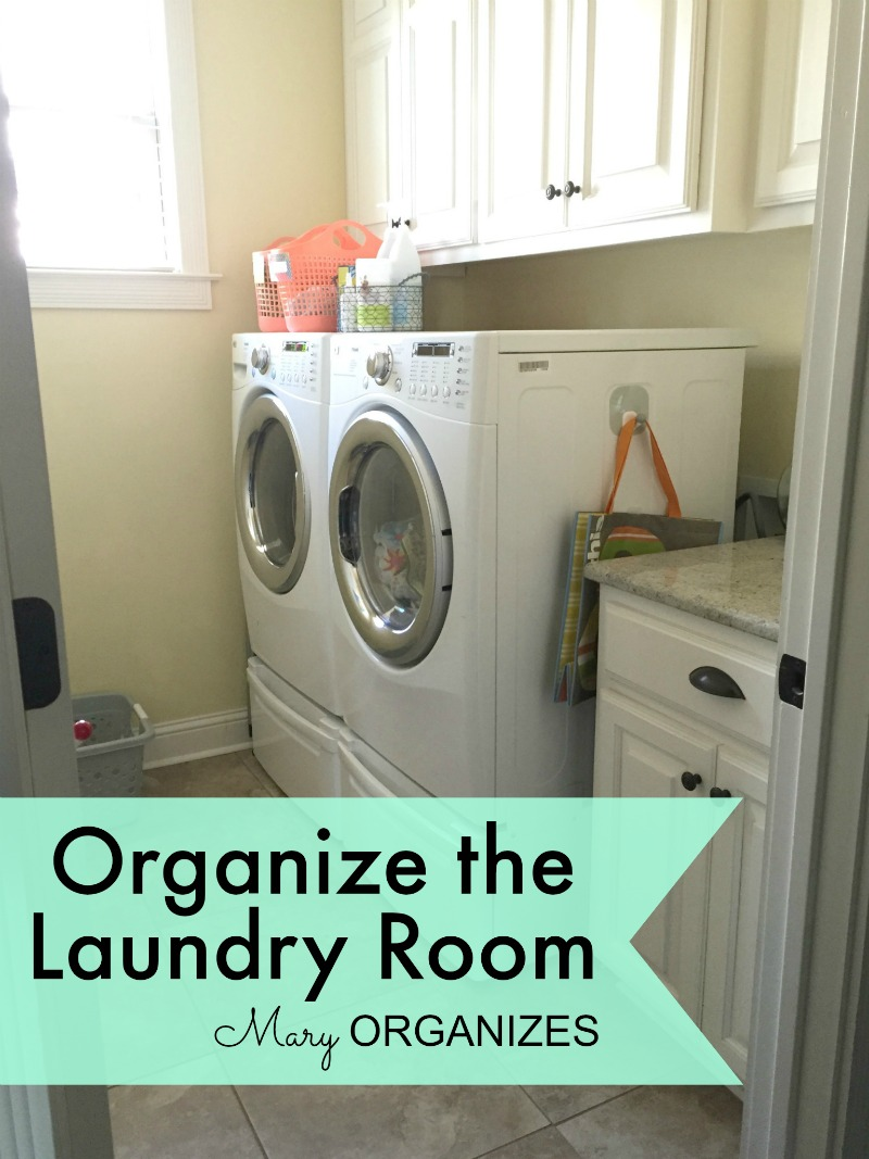 Organize The Laundry Room Creatingmaryshome Com