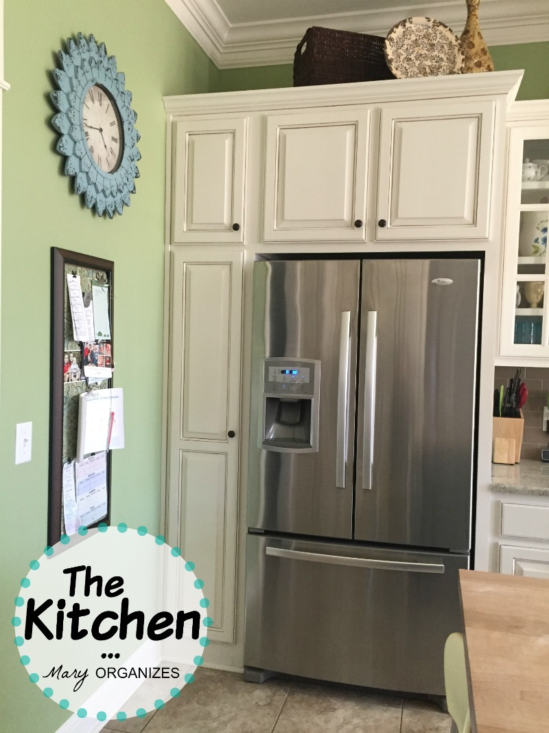 The Kitchen Fridge And Broom Closet Creatingmaryshome Com