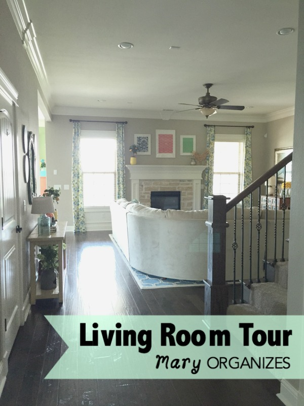 The living room home tour for S carey living room tour