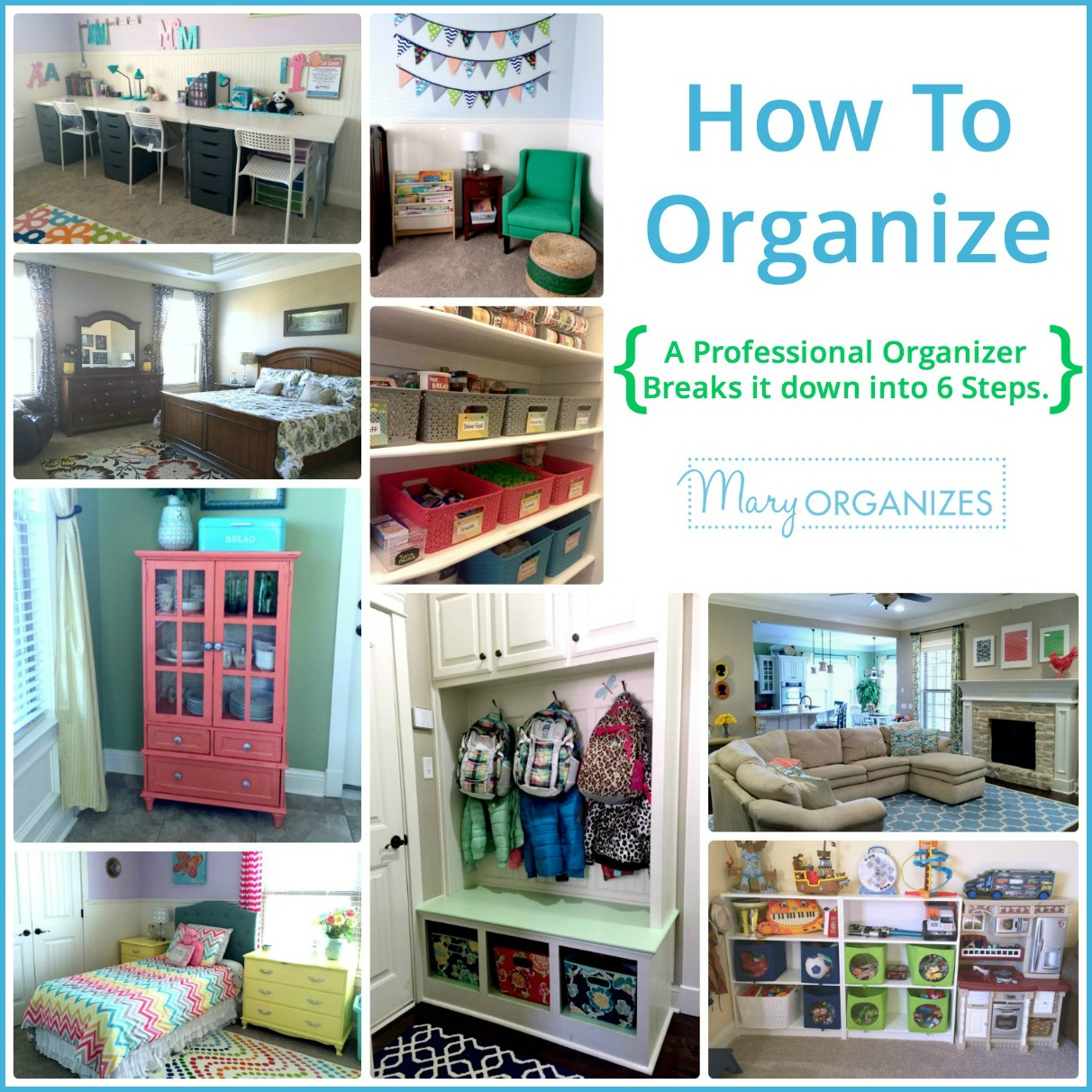 How to organize detailed guide for How to organize your home