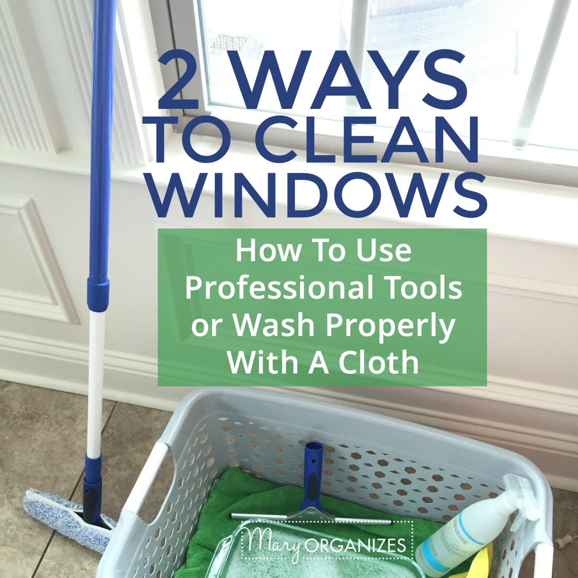 2 ways to clean windows how to clean with professional for How to clean windows