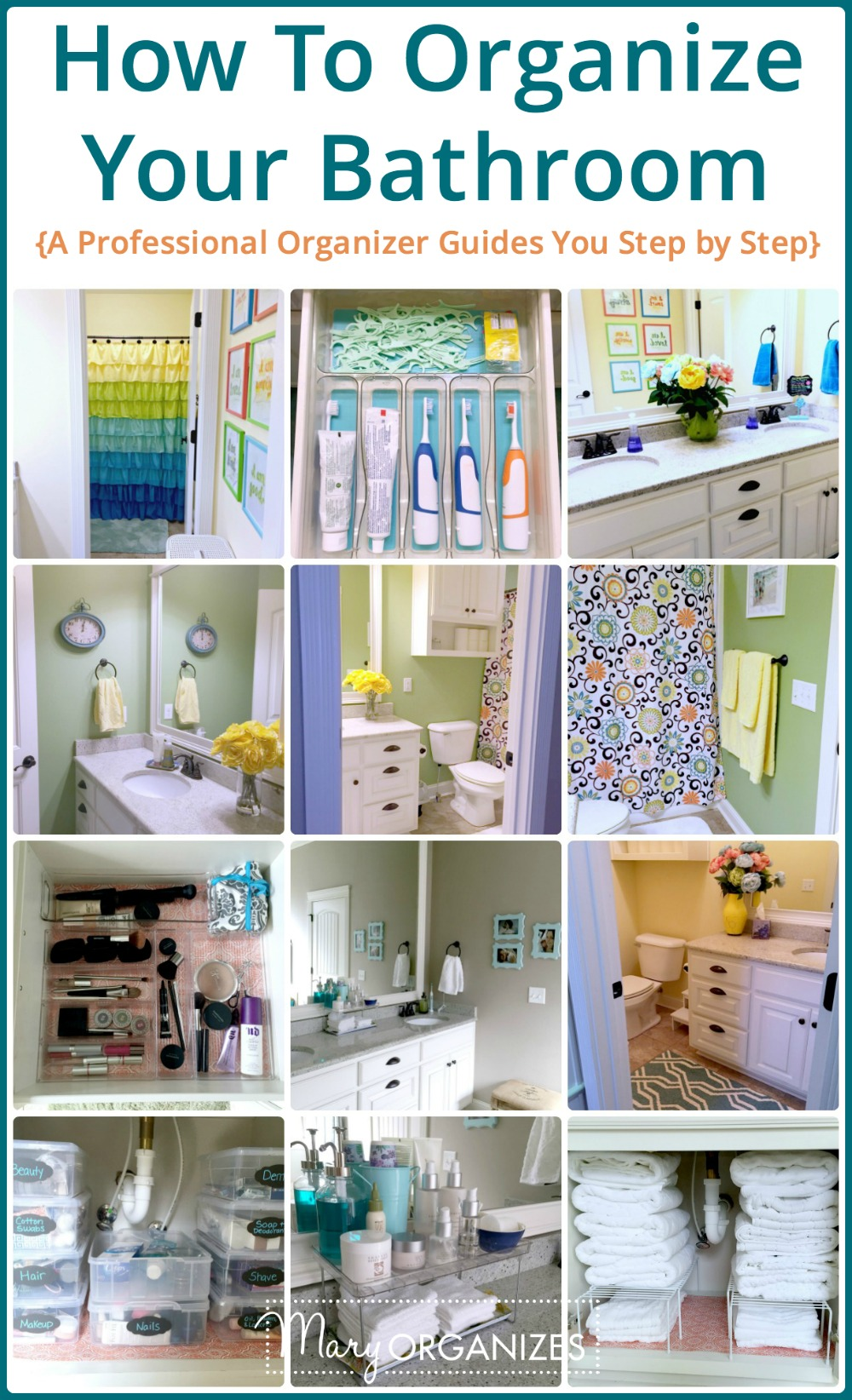 How To Organize Your Bathroom V  Creatingmaryshomecom. Red Polka Dot Kitchen Accessories. Modern White Kitchen Appliances. Storage Boxes For Kitchen. Kitchen Island With Storage And Seating. Modern Kitchen Paint Colors Ideas. Red Pottery Barn Kitchen. Barefoot In The Kitchen Country Song. Modern Kitchen Interior Design